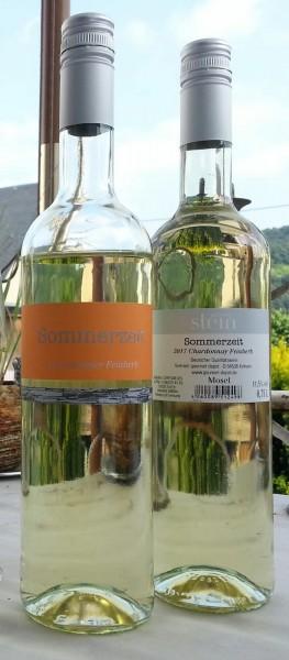 "2017er Chardonnay QBA Feinherb ""Sommerzeit"" 0,75 L"