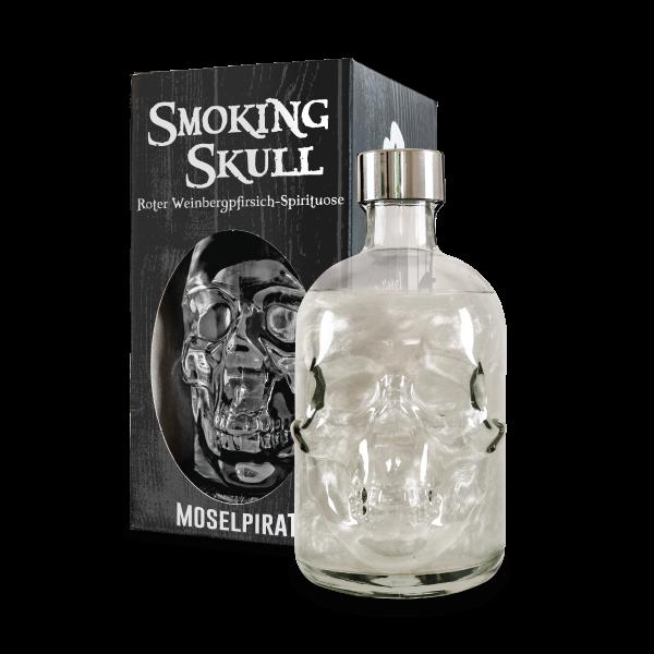 Smoking Skull - Rote Weinbergpfirsich Spirituose 0,5 L