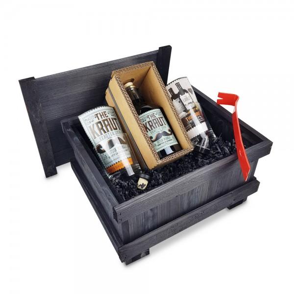 THE KRAUT 0,5L - Brecheisen-Kiste - schwarz