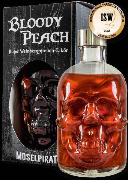 Bloody Peach - Roter Weinbergpfirsich-Likör 0,5 L