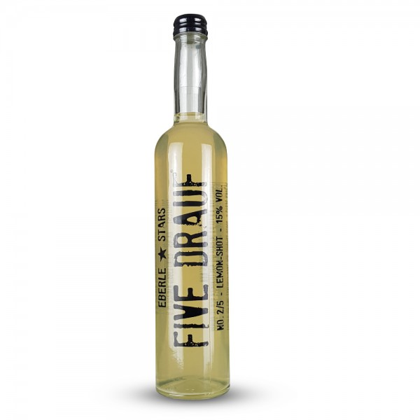 FIVE DRAUF No 2 Lemon Shot 0,5 L
