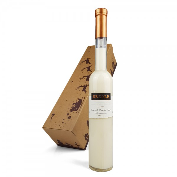 Liqueur de Chocolat blanc 0,35 L im Geschenkkarton